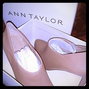 Ann Taylor leather shootie